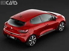 Renault Clio Iv 2013 3d Model Max Cgtrader