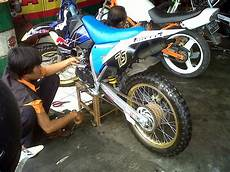 Klx Modif Enduro by Klx 150 Modifikasi Adventure Thecitycyclist