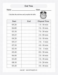 end time word problems worksheets 3410 end time interval printable grade 3 math worksheet