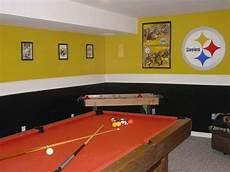 steelers bedroom painting ideas steelers themed gameroom basement designs decorating ideas