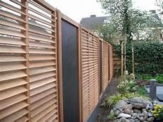 Terrasse Zaun Holz - sichtschutzzaun modern sehr gute ideen holzlamellen