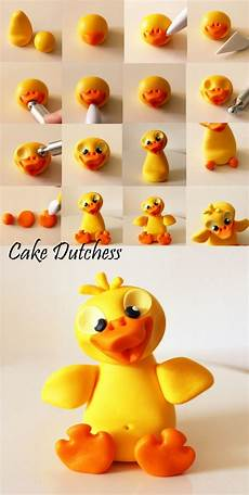 Duckling Polymer Clay Tutorial Cake Dutchess Konditor