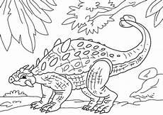Ausmalbilder Dinosaurier Wasser Malvorlage Dinosaurier Ankylosaurus Kostenlose