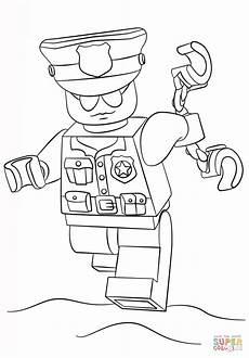 Malvorlage Polizei Lego Ausmalbild Lego Polizist Ausmalbilder Kostenlos Zum