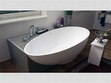 freistehende badewanne cione aus mineralguss wei 223