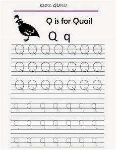 letter tracing worksheets q 23275 kindergarten worksheets printable tracing worksheet alphabet q q