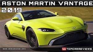 2019 ASTON MARTIN VANTAGE Review Rendered Price Specs