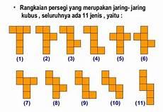 11 Contoh Gambar Jaring Jaring Kubus Dan Penjelasan Unsur