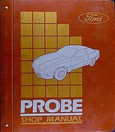 1994 ford probe repair shop manual original 1989 ford probe repair shop manual original