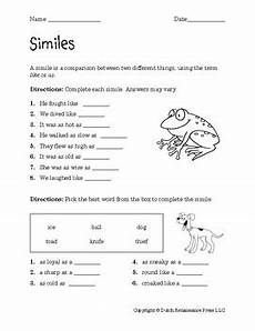 similes worksheets by tim s printables teachers pay teachers
