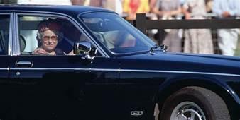 Queen Elizabeths Personal Car With Built In Handbag Tray