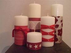 candele decorate per natale decorare candele per natale