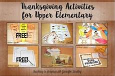 thanksgiving activities for upper elementary teaching to inspire with findley