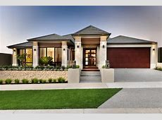 One Story Modern Homes Exterior   Modern bungalow house
