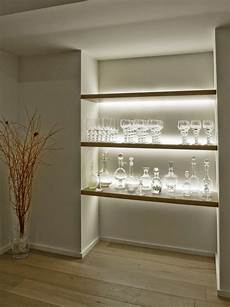 25 amazing shelf lighting wall shelves string lights