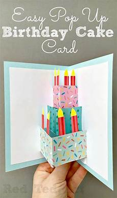 Easy Pop Up Birthday Card Diy Ted Make