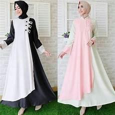 damai fashion jakarta baju tunik muslim adinda 5 warna konveksi baju murah tanah