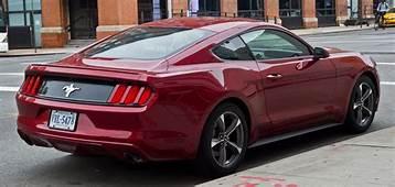 Ford Mustang V6 Coup&233 VI – Heckansicht 2 Oktober