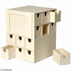 Calendrier De L Avent En Bois à Décorer Calendrier De L Avent En Bois 224 D 233 Corer Cube 17 X 17 X