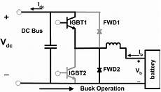 buck operation of dc dc converter circuit diagram download scientific diagram