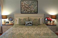 Diy Decorating Ideas For Master Bedroom by Diy Headboard Master Bedroom Update The Turquoise Home