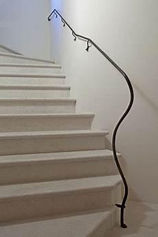 corrimano in ferro battuto per scale interne passamano in ferro battuto per scale interne terminali