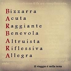 significato delle lettere significato delle lettere tuo nome barbara