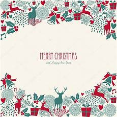 merry christmas text vintage elements vector file stock vector 33501693