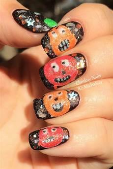 ehmkay nails halloween nail art ideas