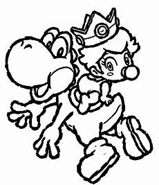 Malvorlagen Mario Classic Cool Yoshi Coloring Pages To Print