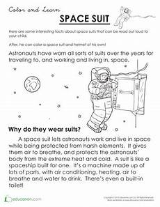 space science worksheets 13402 what is a space suit with images reading comprehension kindergarten reading comprehension