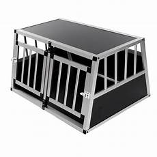 box trasporto cani auto box auto per cani in alluminio per il trasportino