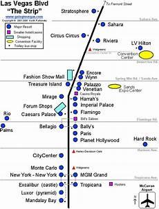 map of the las vegas strip travel pinterest the o