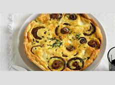 easy mushroom and cheese frittata_image
