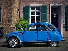 la 2 chevaux free images wheel facade auto blue car