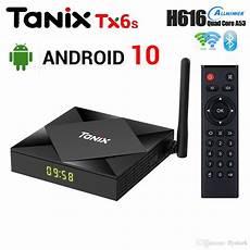 Tanix Tx6s Allwinner H616 32gb Wifi by Tanix Tx6s Android 10 0 Ott Tv Box 4gb Ram 32gb 64gb Rom