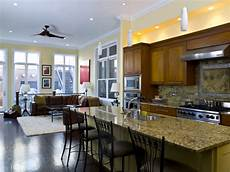 Ideas For Kitchen And Family Room by 20 Open Kitchen Living Room Designs Ideas Design