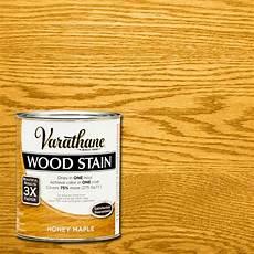 varathane 1 qt 3x honey maple premium stain case of 2 267140 the home depot