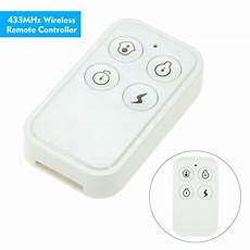 Earykong 433mhz Wireless Remote Controller With by White 433mhz Wireless Remote Controller For Alarm System