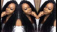 deep side part w curly hair quick weave install blending ms here hair company youtube