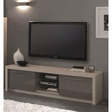 meuble tv gris laqué 39979 meuble tv design 180 cm ch 234 ne blanchi gris laqu 233 rosano