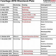 Feiertage Rheinland Pfalz 2019 2020 2021 Mit