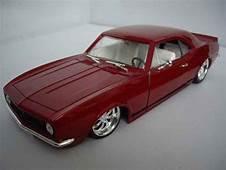 Chevrolet Camaro Z28 1967 Street Racer Red Ertl Diecast