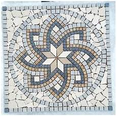 Marmor Rosone Trento 60x60 Cm Mosaik Naturstein Fliesen