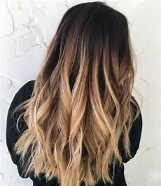 Haare Färben Ombre - ombre blond und dunkelbraun f 252 r den ansatz frisuren