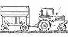 farm equipment coloring sheet coloring pages