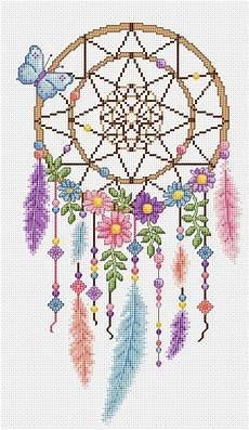 Dreamcatcher Cross Stitch Chart Cross Stitch Cross