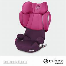 cybex solution q3 fix plus cybex solution q3 fix 2017 platinum line fotelik 15 36 kg