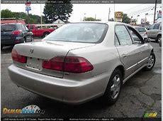 1998 Honda Accord EX V6 Sedan Regent Silver Pearl / Ivory