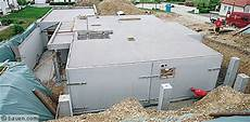 fertigkeller garage dicht warm sicher bauen